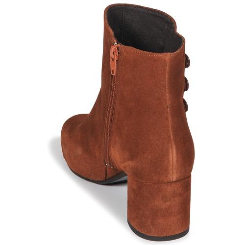 Betty London JOYE Camel Damen  Schuhe Low Boots Damen Camel 109 0f5161