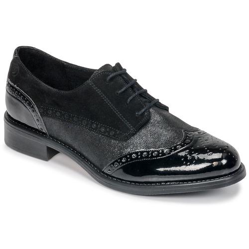 Betty London CODEUX Schwarz  Schuhe Derby-Schuhe Damen 74,99