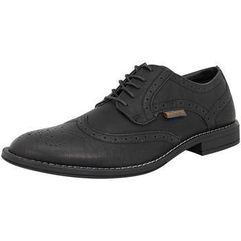 Schuhe Herren Richelieu Ben Sherman 4 EYE FASHION BROGUE Leder Herren Strassenschuhe Neu schwarzben3161