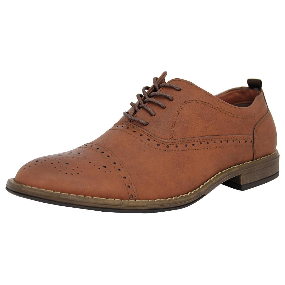 Ben Sherman 4 EYE FASHION BROGUE Leder Herren Strassenschuhe Neu braunben3157 - Schuhe Richelieu Herren 39,90 €