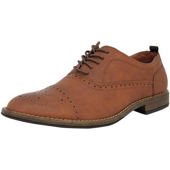 Schuhe Herren Richelieu Ben Sherman 4 EYE FASHION BROGUE Leder Herren Strassenschuhe Neu braunben3157