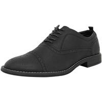 Schuhe Herren Derby-Schuhe Ben Sherman 4 EYE FASHION BROGUE Leder Herren Strassenschuhe Neu schwarzben3157