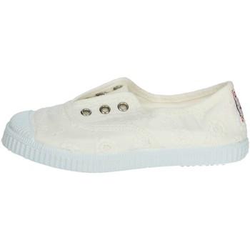 Schuhe Kinder Sneaker Low Cienta 70998 Weiss