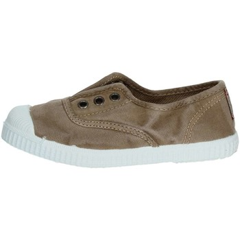 Schuhe Kinder Sneaker Low Cienta 70777 Braun Taupe