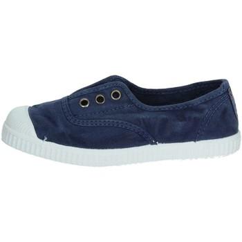 Schuhe Kinder Sneaker Low Cienta 70777 Blau