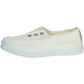 Schuhe Kinder Sneaker Low Cienta 70997 Weiss