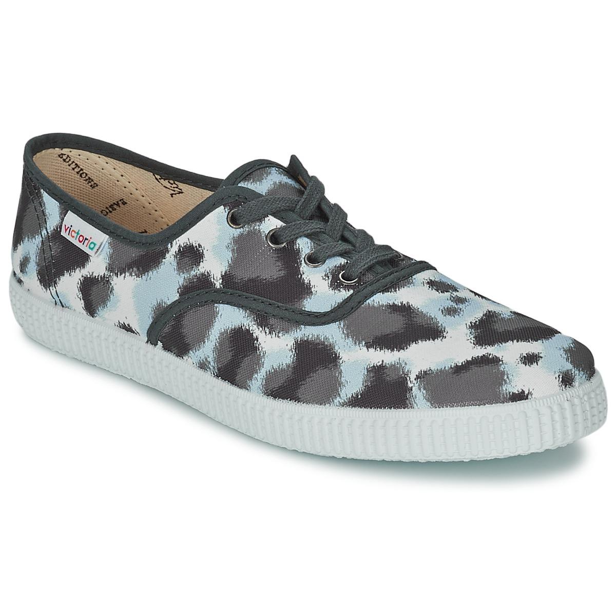 Victoria INGLESA ESTAMP HUELLA TIGRE Grau - Kostenloser Versand bei Spartoode ! - Schuhe Sneaker Low Damen 18,00 €