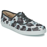 Schuhe Damen Sneaker Low Victoria INGLESA ESTAMP HUELLA TIGRE Grau