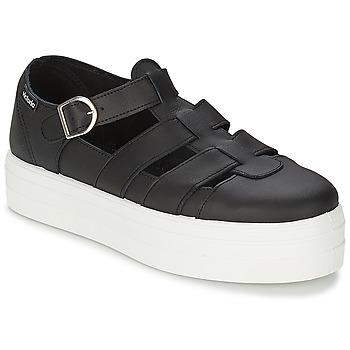 Schuhe Damen Sandalen / Sandaletten Victoria SANDALIA PIEL Schwarz