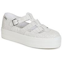 Schuhe Damen Sandalen / Sandaletten Victoria SANDALIA PIEL GRABADA COCO Weiss