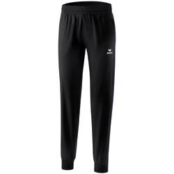 Kleidung Damen Jogginghosen Erima Pantalon présentation femme  Premium One 2.0 noir