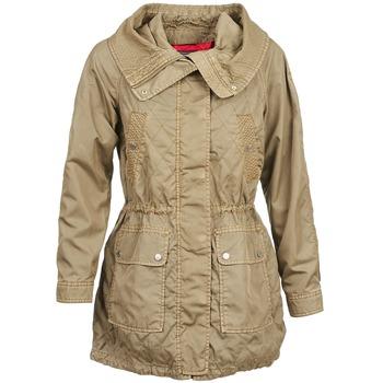 Kleidung Damen Trenchcoats Tommy Hilfiger JANINE Beige