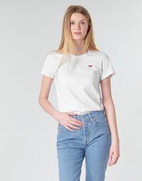 Kleidung Damen T-Shirts Levi's PERFECT TEE Weiss