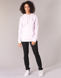 Kleidung Damen Straight Leg Jeans Levi's 724 HIGH RISE STRAIGHT Schwarz