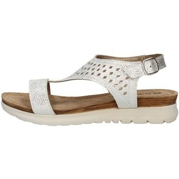 Schuhe Damen Sandalen / Sandaletten Inblu TU 37 D Sandale Frau Silber Silber