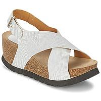 Schuhe Damen Sandalen / Sandaletten Ganadora SARA Weiss
