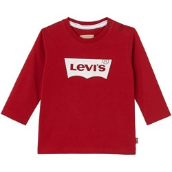 Kleidung Jungen T-Shirts Levi's LS TEE WESLEY Rot