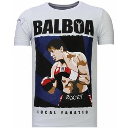 Kleidung Herren T-Shirts Local Fanatic Balboa Strass Weiß