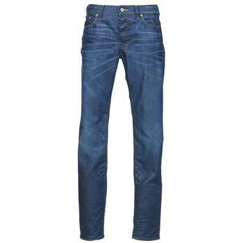 Kleidung Herren Straight Leg Jeans G-Star Raw 3301 LOW TAPERED Blau