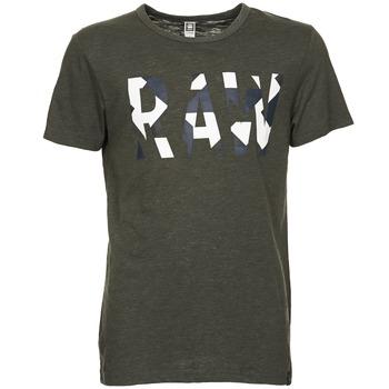Kleidung Herren T-Shirts G-Star Raw MOIRIC R T S/S Kaki