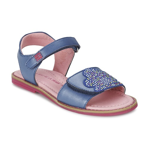 Schuhe Mädchen Sandalen / Sandaletten Agatha Ruiz de la Prada MISS PONZA Blau