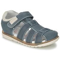 Schuhe Kinder Sandalen / Sandaletten Garvalin SANDALIAS BOY Blau