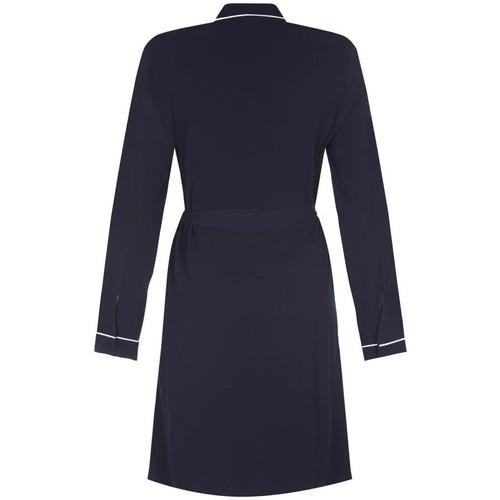 Anastasia Piped Shirt Kleid für Frauen Blue - Kleidung Trenchcoats Damen 4999 NhA8X