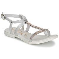 Schuhe Mädchen Sandalen / Sandaletten Acebo's MADALEN Silbern