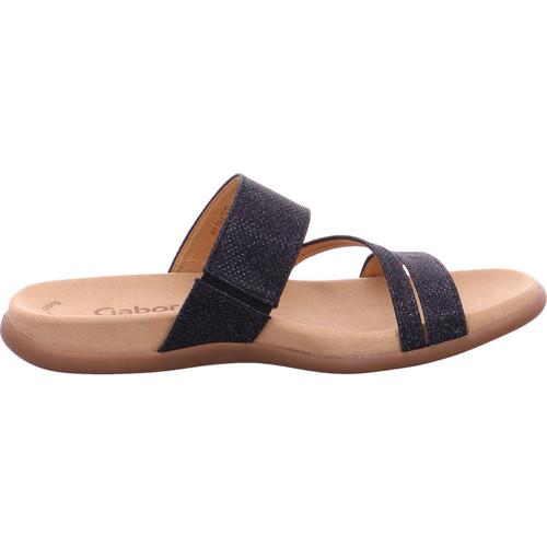 Gabor - 83.703.66 nightblue - Schuhe Sandalen / Sandaletten Damen 51,75