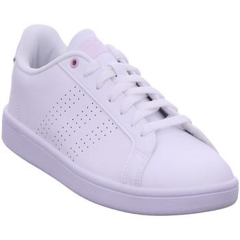 Schuhe Sneaker Low adidas Originals CF ADVANTAGE FTWWHT/FTWWHT/AERPNK
