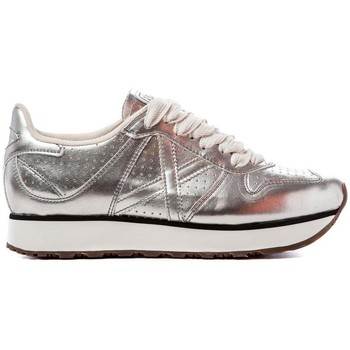 Schuhe Sneaker Low Munich Fashion MASSANA SKY Silber