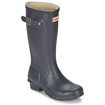 Schuhe Kinder Gummistiefel Hunter ORIGINAL JUNIORS Marine