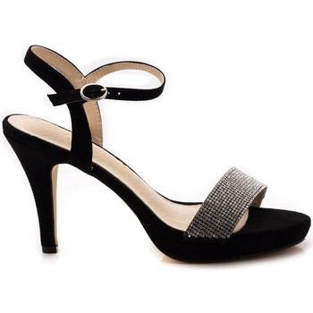 Schuhe Damen Sandalen / Sandaletten Azarey 375A236 Schwarz
