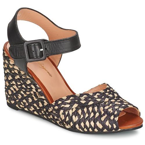 Schuhe Damen Sandalen / Sandaletten Robert Clergerie DISON Schwarz