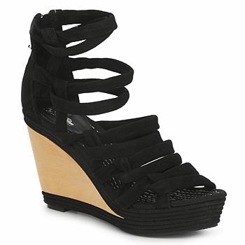 Schuhe Damen Sandalen / Sandaletten Belle by Sigerson Morrison APACHE HI Schwarz