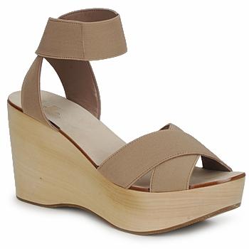 Schuhe Damen Sandalen / Sandaletten Belle by Sigerson Morrison ELASTIC Braun