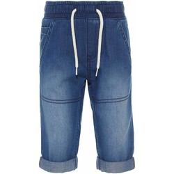 Kleidung Jungen Shorts / Bermudas Name It Kids NMMRYAN DNMBERN 1052 LONG SHORTS Blau
