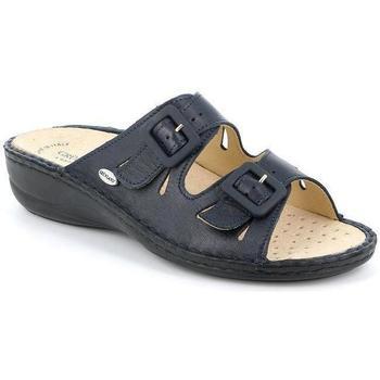 Schuhe Damen Pantoffel Grunland DSG-CE0569 BLU