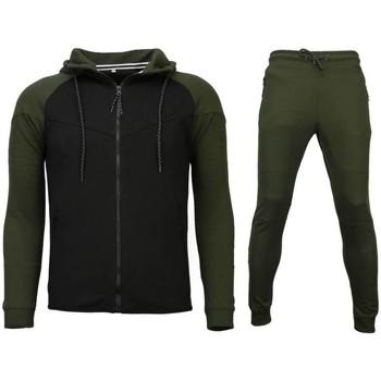 Kleidung Herren Jogginghosen Sixth June Trainingsanzug Windrunner Grün