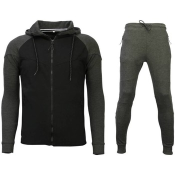 Kleidung Herren Jogginganzüge Sixth June Trainingsanzug Windrunner Grau