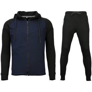 Kleidung Herren Jogginghosen Sixth June Trainingspakken Windrunner Zwart W Zwart, Blauw
