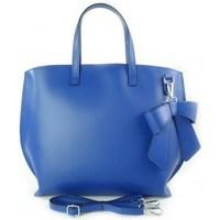 Taschen Damen Handtasche Vera Pelle SB689BLU Blau