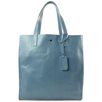 Taschen Damen Handtasche Vera Pelle GL46B2 Blau