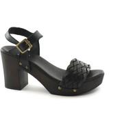 Schuhe Damen Pantoffel Divine Follie DIV-E18-609-238-NE Nero