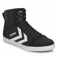Schuhe Sneaker High Hummel TEN STAR HIGH CANVAS Schwarz / Weiss