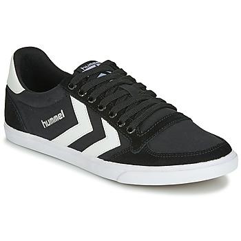 Sneaker Hummel TEN STAR LOW CANVAS Schwarz / Weiss 350x350