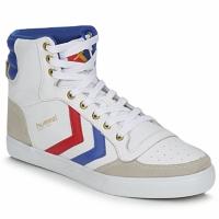 Schuhe Sneaker High Hummel STADIL HIGH Weiss / Blau / Rot