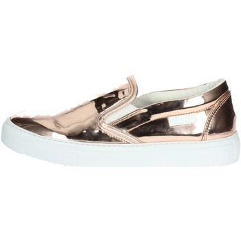 Schuhe Damen Slip on Agile By Ruco Line 2813(61-A) kupferfarbig
