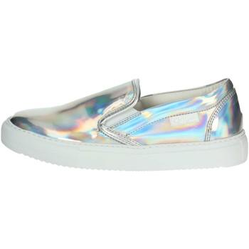 Schuhe Damen Slip on Agile By Ruco Line Agile By Rucoline  2813(62-A) Slip-on Schuhe Damen Silber Silber