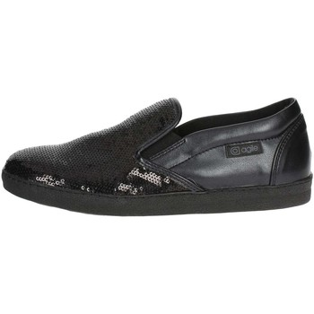 Schuhe Damen Slip on Agile By Ruco Line 2813(65-A) Schwarz